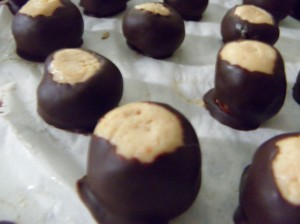 Chocolate and peanut butter deliciousness